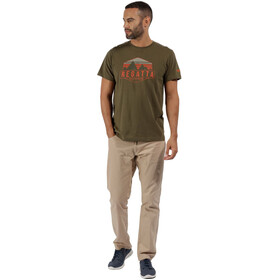 Regatta Cline II T-Shirt Men Ivy Green